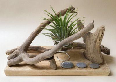 Objet décoratif en bois flotté Kerlaguen