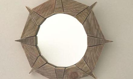 TUTO – Comment fabriquer un miroir étoile en bois flotté