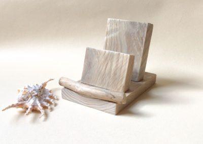 Porte-cartes en bois flotté Goazic2